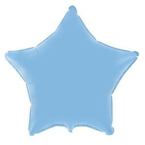 Estrela Foil 45cm Azul Bébé