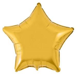 Estrela Foil 45cm Dourada