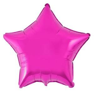 Estrela Foil 45cm Fuchia