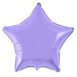 Estrela Foil 45cm Lilás