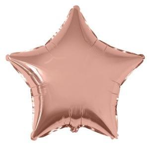 Estrela Foil 45cm Rosa Gold