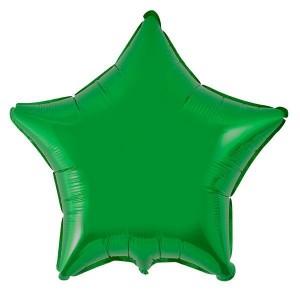 Estrela Foil 45cm Verde