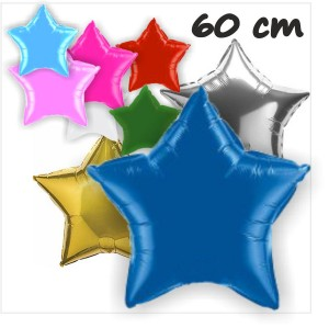 Estrelas Foil 60cm