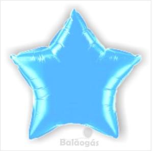 Estrela Foil 40cm Azul Bébé