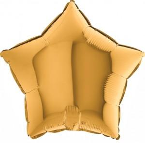 Estrela Foil 40cm Dourada