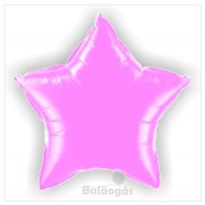 Estrela Foil 40cm Rosa