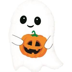 Balão Fantasma Halloween 66cm Grabo