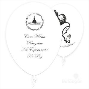 Balões Centenário das Aparições de Fátima