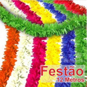 Festão 12 Metros