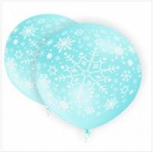 Balão Gigante Flocos de Neve 75cm