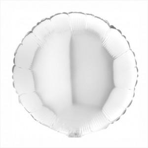 Redondo Foil 40cm Branco
