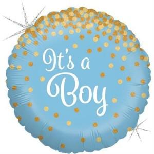 Balão Confetti It´s a Boy 46cm