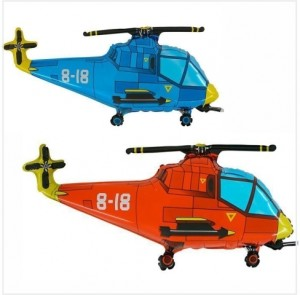 Balão Helicoptero 75cm Grabo