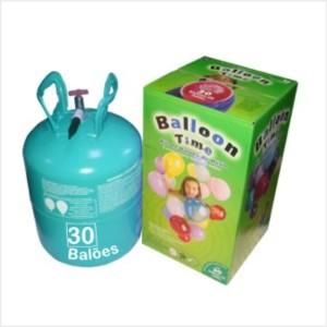 Kit Gás Hélio com 30 Balões incluidos