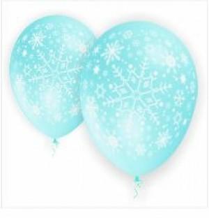 50 Balões Flocos de Neve 32cm