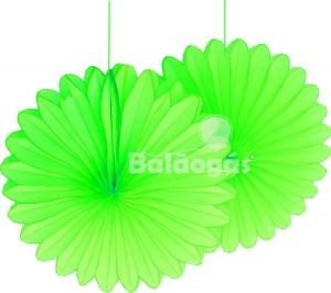 Flor Leque Papel Verde Alface