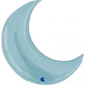 Lua Gigante 91cm Azul Bébé Grabo