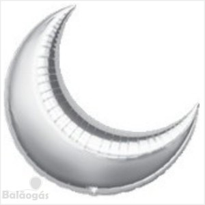 Lua Gigante 90cm Prateada