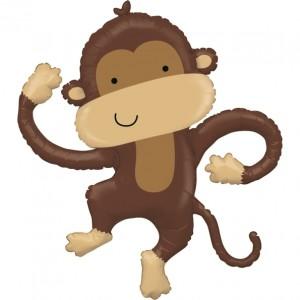 """Balão Macaco Amigo 40""""/102cm Grabo"""