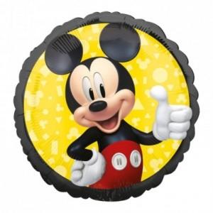 Balão Foil Mickey Amarelo 43cm