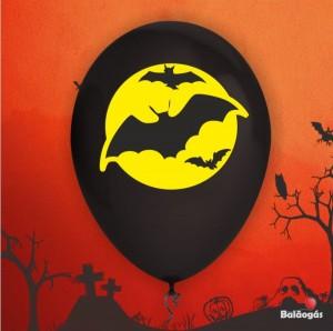 10 Balões Halloween Morcegos