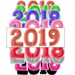 4 Balões Números Gigantes 2019