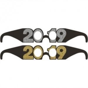 Oculos 2019 Passagem Ano em Cartão