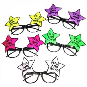 Oculos Estrela Passagem de Ano