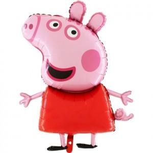 "Balão Peppa Pig Mini 17"" 42cm Grabo"