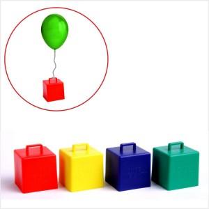 4 Pesos Cubo, Suporte de Balões