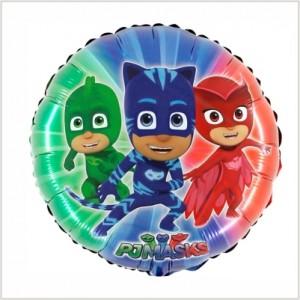 Balão PJ Masks Redondo 45cm