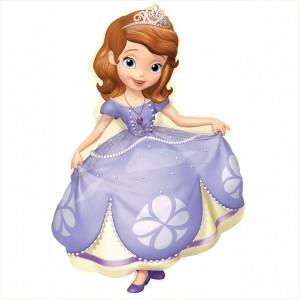 Balão Princesa Sofia Supershape 88cm