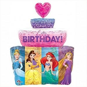 Balão Princesas Supershape 71cm
