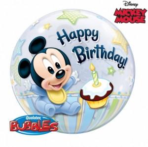 """Bubble Mickey Bolo 22""""56cm"""