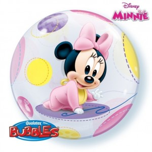 """Bubble Minnie Bébé 22""""56cm"""