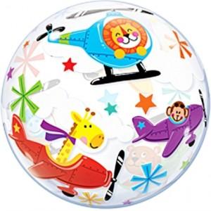 """Bubble Aviões 22""""56cm"""