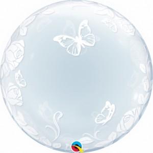 "Bubble Borboletas 24""61cm"