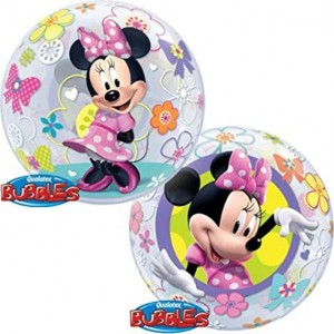 "Bubble Minnie Bow-tique  22""56cm"