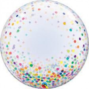"Bubble Confetis Coloridos 24""61cm"