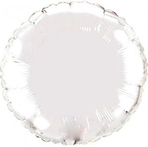 Redondo Foil 45cm Branco