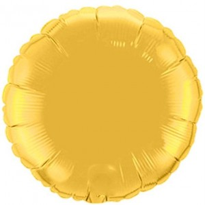 Redondo Foil 45cm Dourado