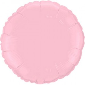 Redondo Foil 45cm Rosa Bebé