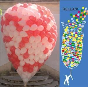 Rede Largada 500 Balões