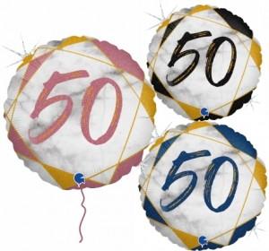 Balão Redondo 50 Marmore 46cm