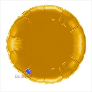 Redondo Foil 40cm Dourado