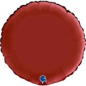 Balão Redondo Cetim 46cm Cereja