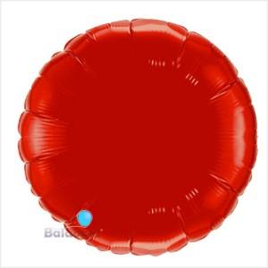 Redondo Foil 40cm Vermelho