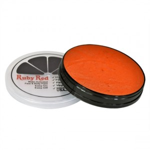 Tinta Facial Laranja Rubyred 18ml Vegan