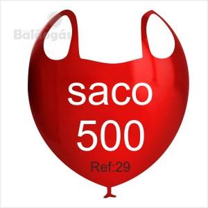 """500 Balões Pastel 10""""/29cm"""