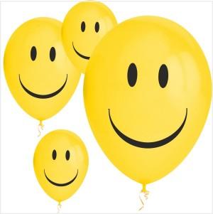 10 Balões Smile